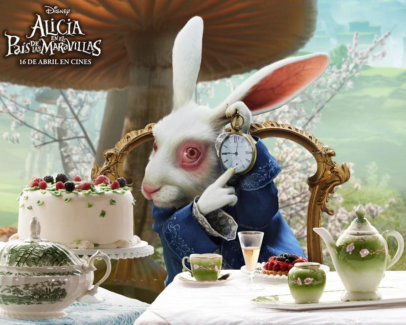 El Conejo Blanco – Alice In Wonderland
