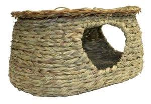 Modelo de casa para conejos de cuerda