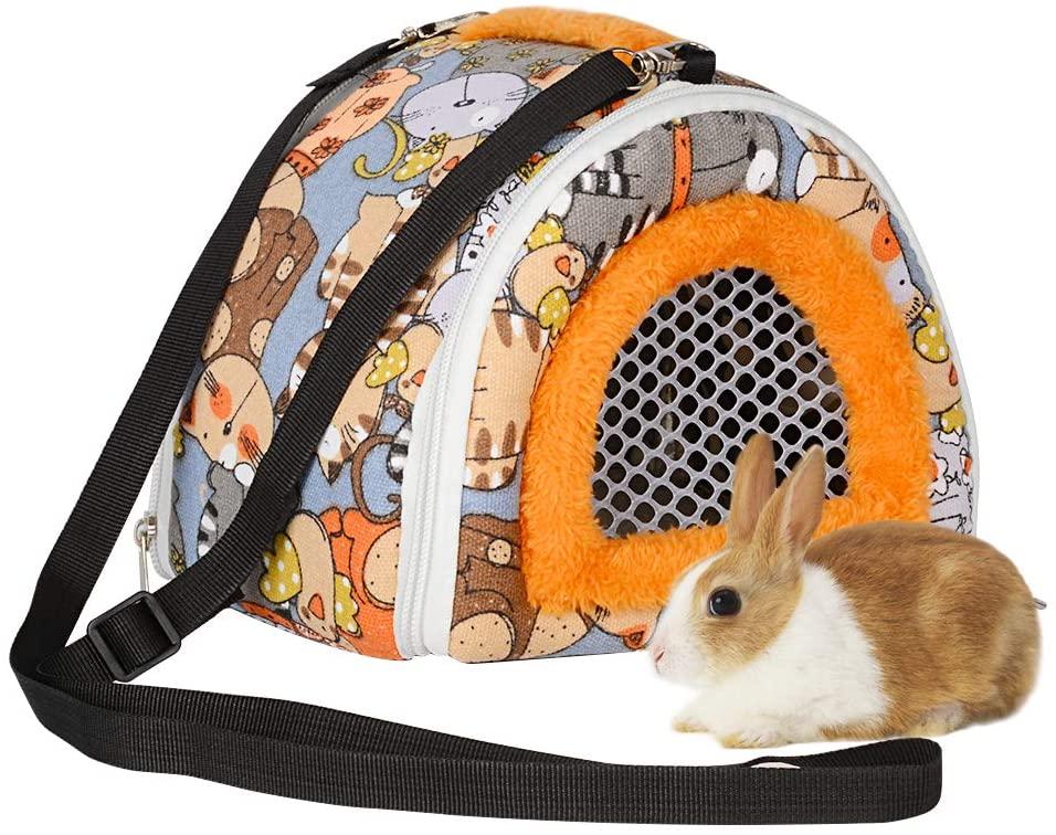bolsa transporte para conejos